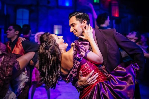 Eric Rivas as Bernardo and Marisa Rivera as Anita