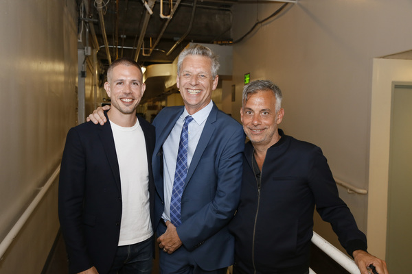 Stephen Karam, Michael Ritchie and Joe Mantello