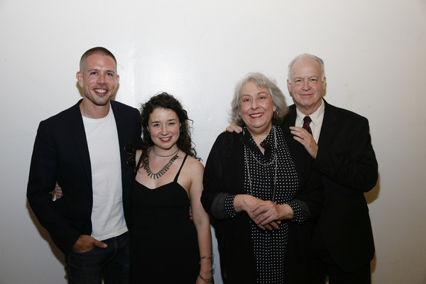 Stephen Karam, Sarah Steele, Jayne Houdyshell and Reed Birney