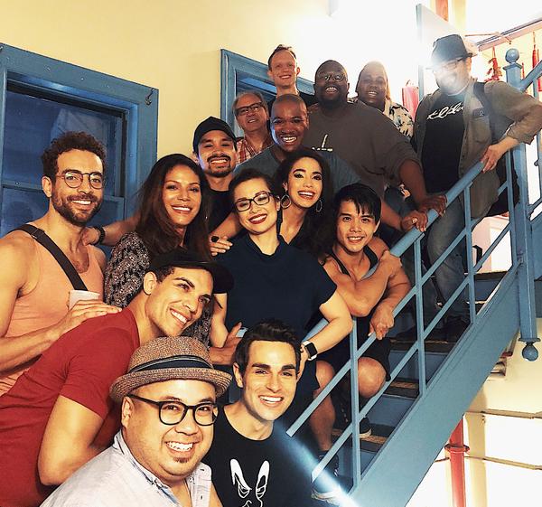 Alex Newell, Lea Salonga, and the Cast of ALADDIN