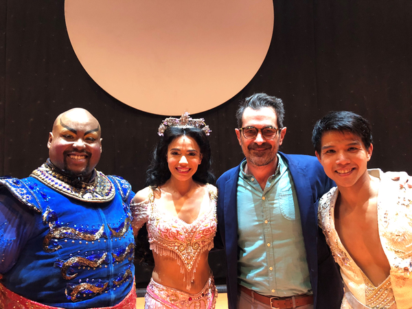 Major Attaway, Arielle Jacobs, Ty Burrell, Telly Leung Photo