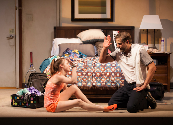 Photo Flash: Mamie Gummer and Joe Tippett Star in OUR VERY OWN CARLIN MCCULLOUGH at Geffen Playhouse