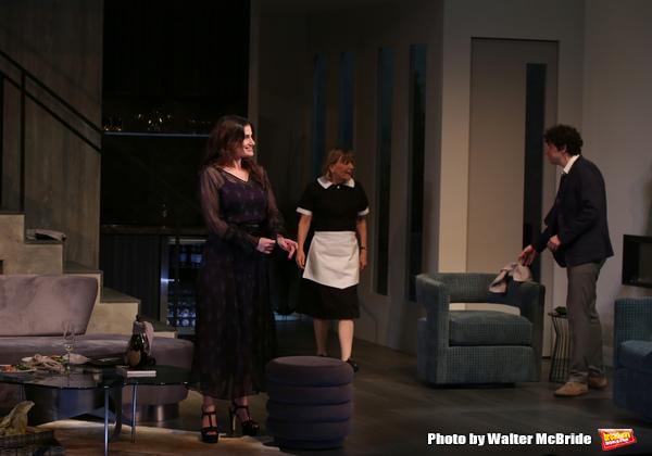 Idina Menzel, Cynthia Mace and Eli Gelb