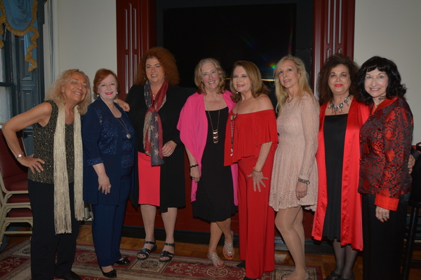 Sheree Sano, Teresa Fischer, Karen Nason, Cheryl Benton, Randie Levine-Miller, Maggie Determann, Merrill Stone and Robin Gerson Wong