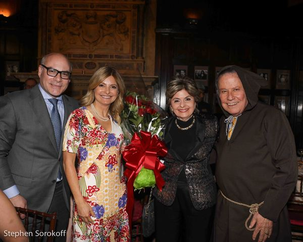 Michael L. Gyure, Lisa Bloom, Gloria Allred, Marvin Scott Photo