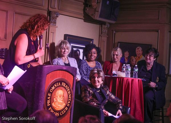 Judy Gold, Joanne Cassidy, Chanel Ali, Lauren Frost, Maddy Smith, Gloria Allred