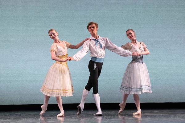 Ida Praetorius, Marcin Kupinski, Kizzy Matiakis of Royal Danish Ballet in August Bour Photo