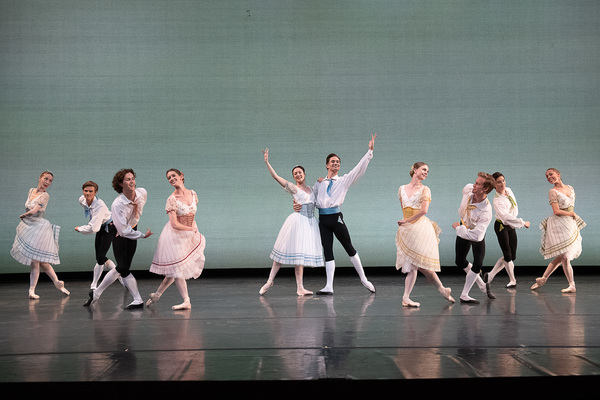 "Royal Danish Ballet in August Bournonville's ""Napoli""; photo Christopher Duggan Photo"