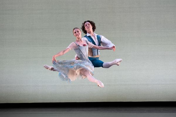 "Ida Praetorius and Andreas Kaas of Royal Danish Ballet in August Bournonville's ""The  Photo"