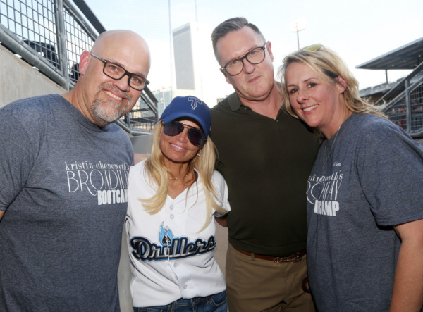 Mark Frie, Kristin Chenoweth, Jack T. Wallace, Kim Vento Photo