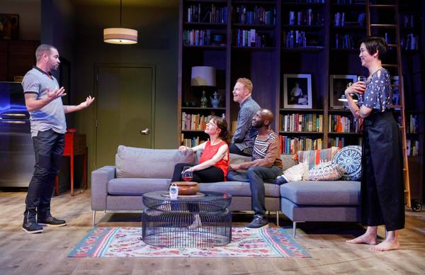 Photo Flash: First Look at Jesse Tyler Ferguson and Company in LOG CABIN
