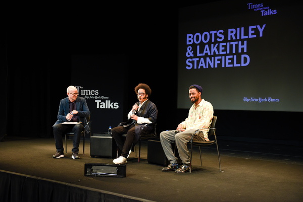 Logan Hill, Boots Riley, Lakeith Stanfield