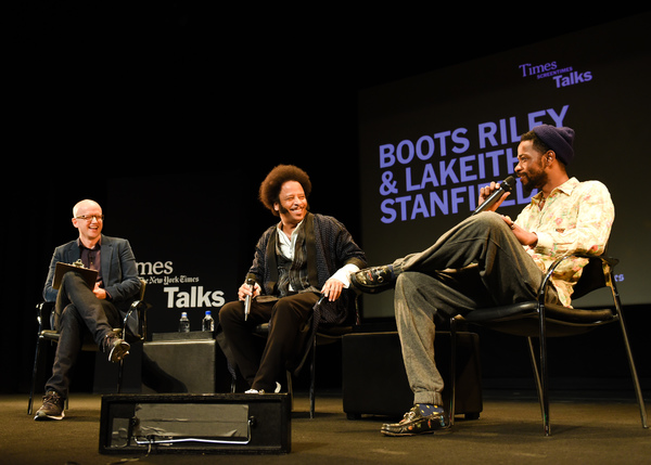 Logan Hill, Boots Riley, Lakeith Stanfield Photo