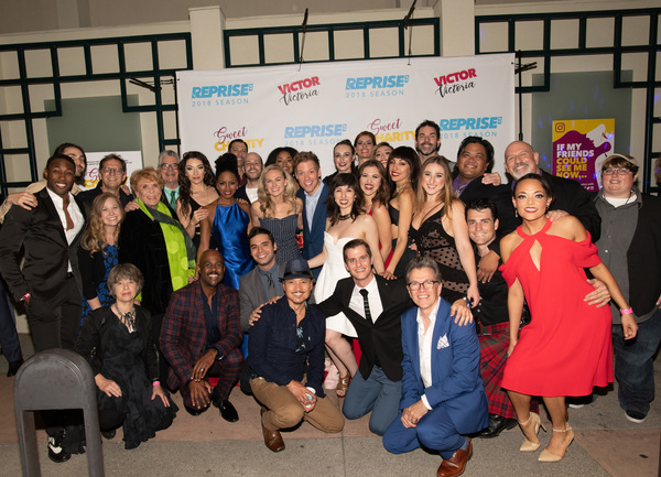Photo Flash: Laura Bell Bundy and the Cast of SWEET CHARITY Celebrate Opening Night at Reprise 2.0