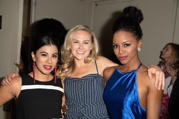 Chrissie Fit, Laura Bell Bundy, and Krystal Joy Brown
