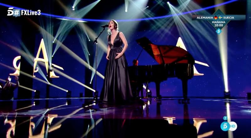 STAGE TUBE: Jana Gómez interpreta 'Viaje Al Pasado' (ANASTASIA) en Factor X