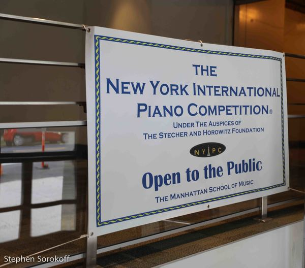 Photo Coverage: Four Days Of The New York International Piano Competition End - And The Winners Are