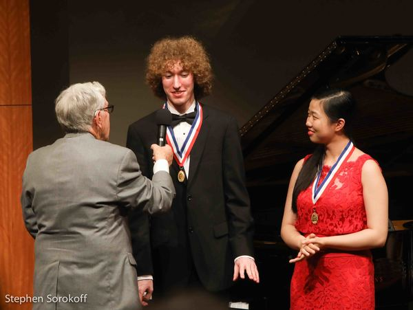 Michael Davidman & Kimberly Han, Winners The Melvein Stecher Norman Horowitz Prize One-Piano, Four Hands Ensemble