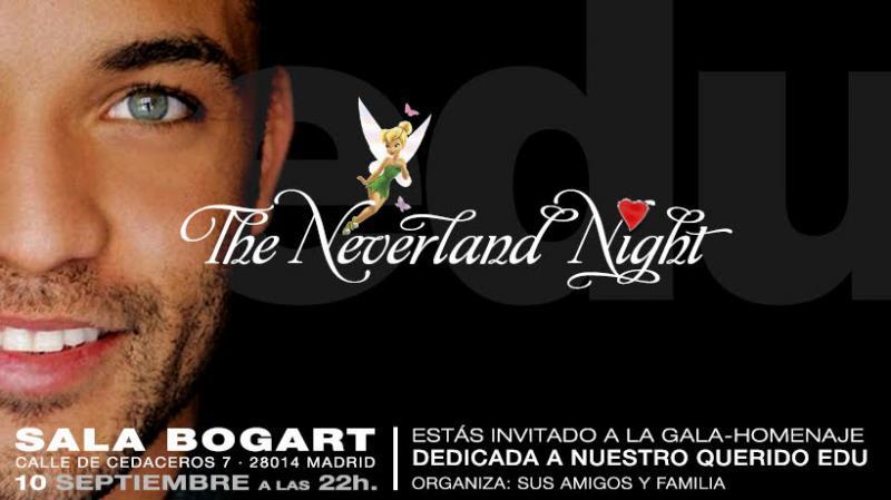 The Neverland Night en la Sala Bogart será un homenaje a Edu Del Prado
