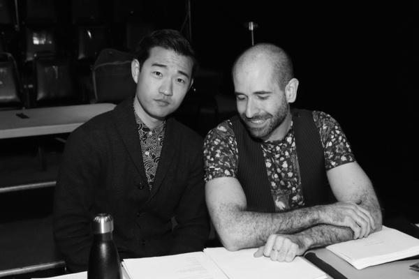 Playwright Daniel K. Isaac and Director Carlos Armesto