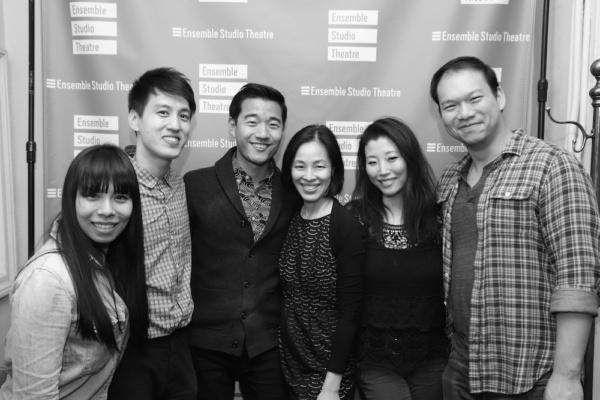 Esther Chen, Julian Leong, Daniel K. Isaac, Lia Chang, Deborah S. Craig and Miller Tai. Photo by Tom Marks