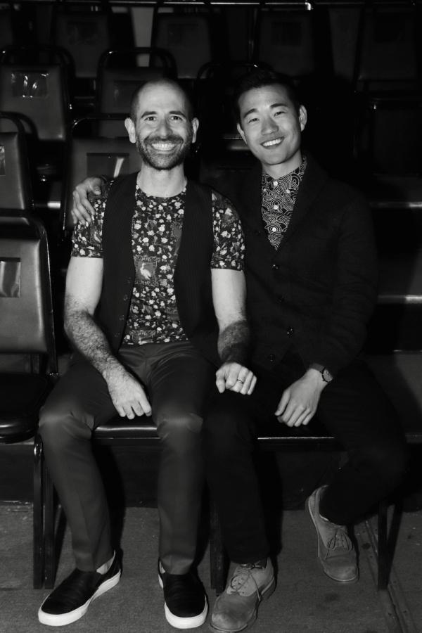 Director Carlos Armesto and Playwright Daniel K. Isaac