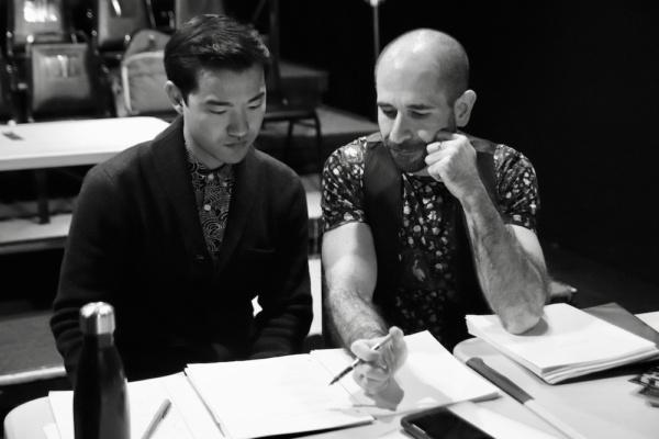 Playwright Daniel K. Isaac and Director Carlos Armesto Photo