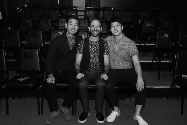 Daniel K. Isaac, Carlos Armesto, Julian Leong.