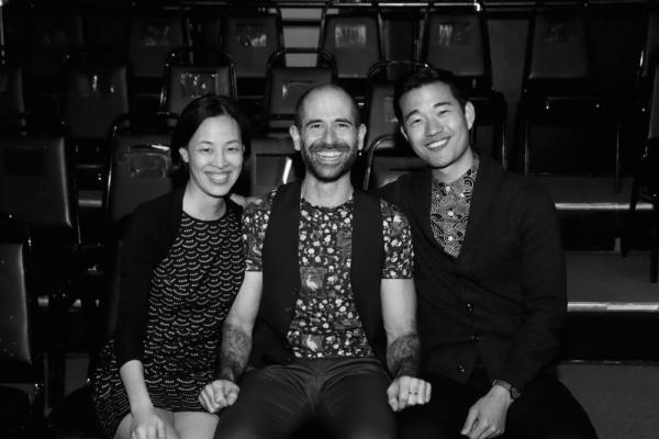 Lia Chang, Carlos Armesto, Daniel K. Isaac. Photo by Deborah S. Craig