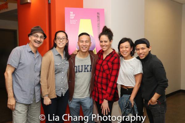 Ned Eisenberg, Playwright Lauren Yee, BD Wong, Director Taibi Magar, Ali Ahn, Tony Aidan Vo