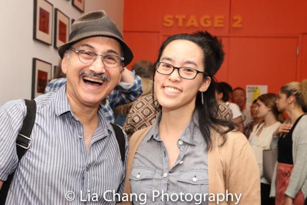 Ned Eisenberg and Lauren Yee Photo