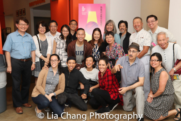 Lauren Yee, BD Wong, Ali Ahn, Tony Aidan Vo, Taibi Magar and members of the Yee Clan