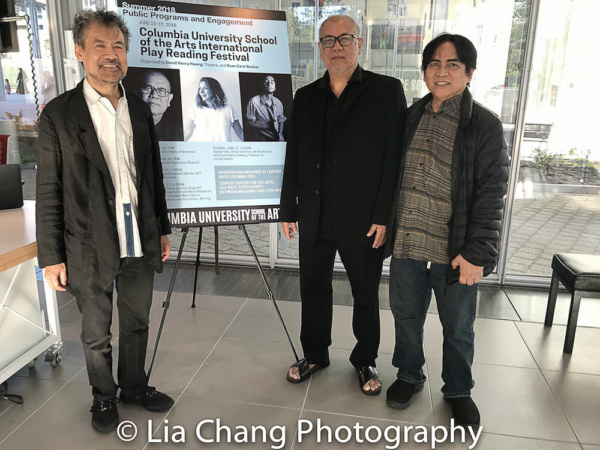 Photo Flash: N. Riantiarno's TIME BOMB Holds Reading at Inaugural Columbia University School Of The Arts International Play Reading Festival