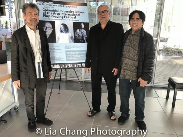 David Henry Hwang, N. Riantiarno and Corin Asmara.