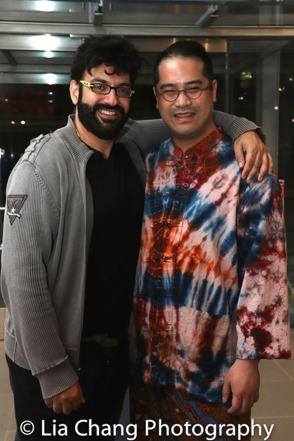 Sevan Greene and Ed Sylvanus Iskandar Photo