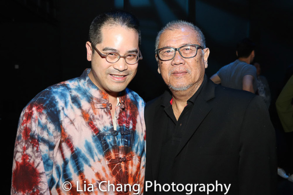 Director Ed Sylvanus Iskandar and Playwright N. Riantiarno