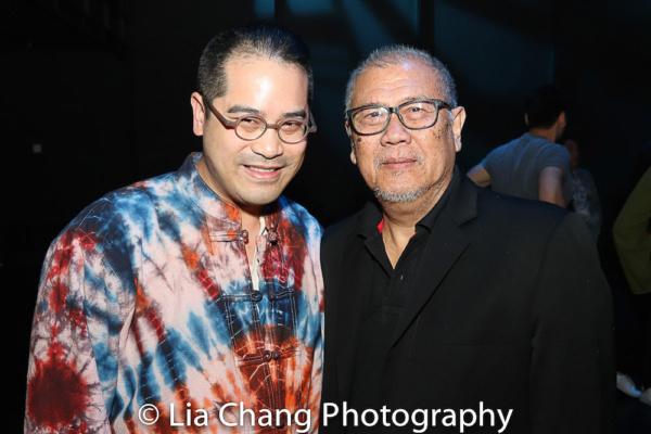 Director Ed Sylvanus Iskandar and Playwright N. Riantiarno