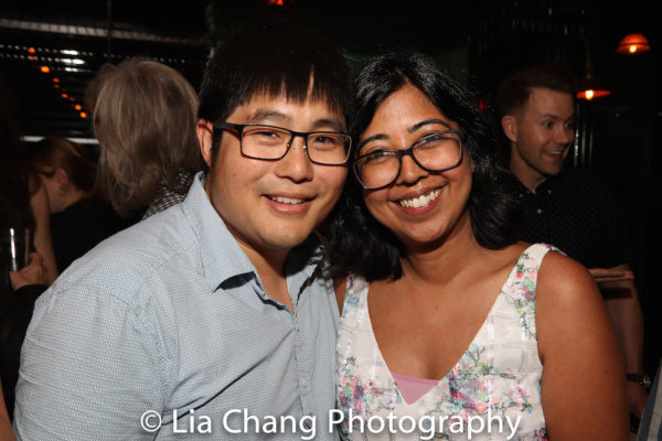 Mike Lew and his wife Rehana Lew Mirza