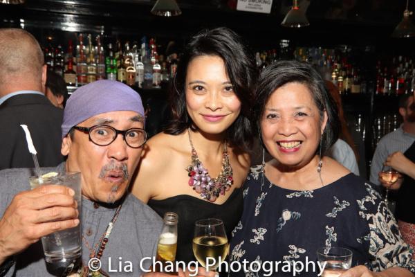 Jojo Gonzalez, Tiffany Villarin, Mia Katigbak Photo