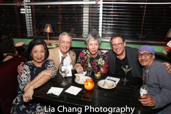Mia Katigbak, Jorge Ortoll, Jessica Hagedorn, Michael Greif, Jojo Gonzalez Photo