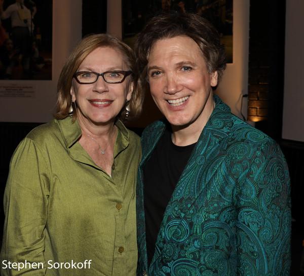 Julianne Boyd, Artistic Director Barrington Stage CO. & Charles Busch Photo