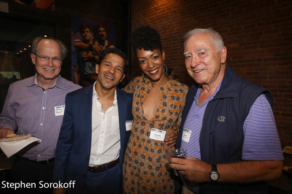 Norman Boyd, Carlo Alban, Nemuna Ceesay, Bruno Quinson Photo