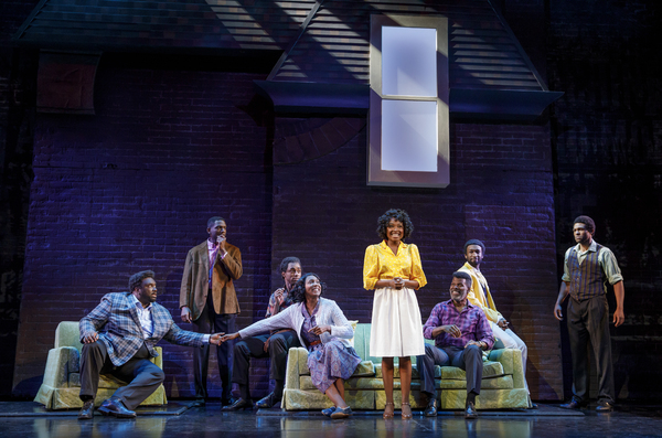 Brad Raymond as Ronald Winans, Matthew Griffin as Carvin Winans, Jay McKenzie as Michael Winans, Nita Whitaker as Mom Winans, Loren Lott as CeCe Winans, Milton Craig Nealy as Pop Winans, Donald Webber Jr. as BeBe Winans, and Jarran Muse as Marvin Winans,