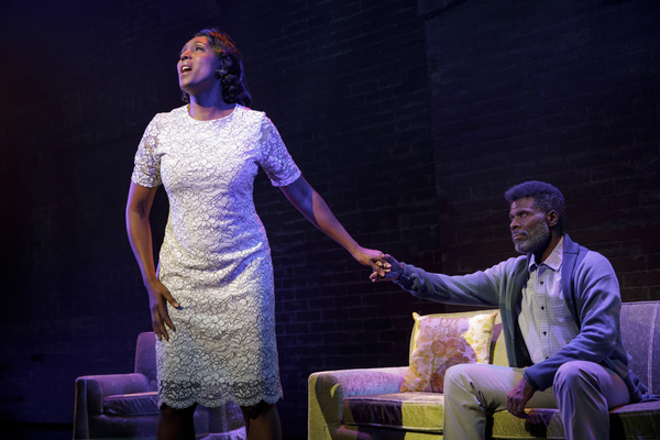 "Nita Whitaker as Mom Winans and Milton Craig Nealy as Pop Winans in BORN FOR THIS â€"" A NEW MUSICAL"