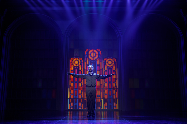 "Donald Webber Jr. as BeBe Winans in BORN FOR THIS â€"" A NEW MUSICAL"