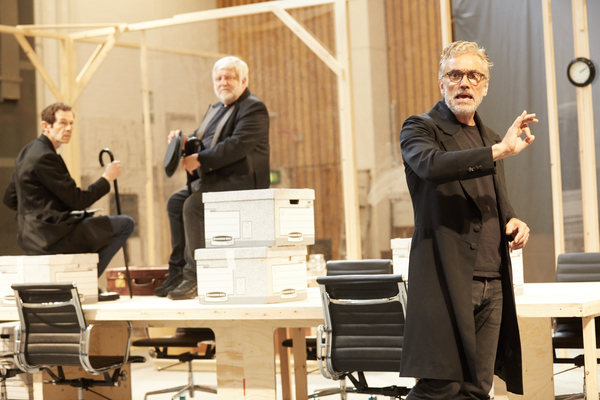 Ben Miles, Simon Russell Beale and Adam Godley Photo