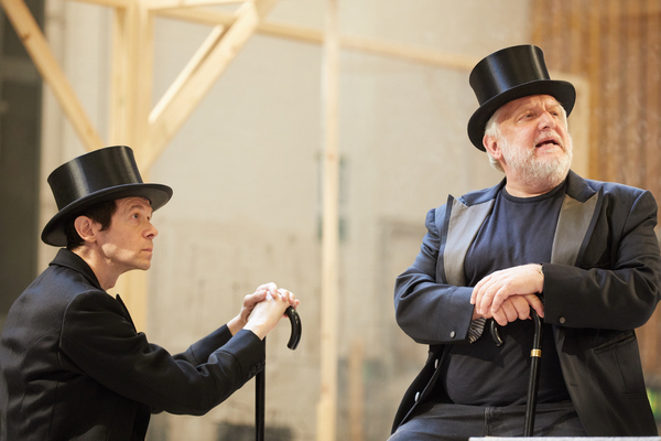 Simon Russell Beale and Adam Godley