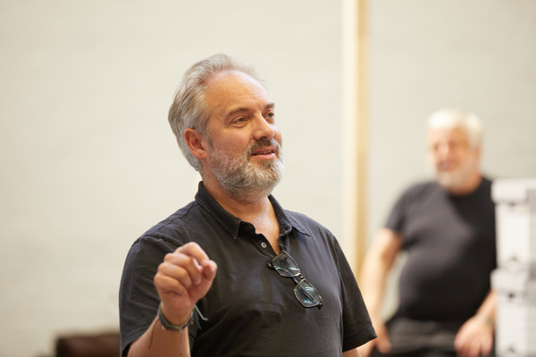 Photo Flash: In Rehearsal with the National Theatre's THE LEHMAN TRILOGY