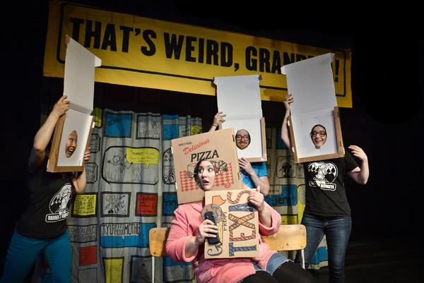 Photo Flash: Barrel of Monkeys' Presents THAT'S WEIRD, GRANDMA: Stories About Food