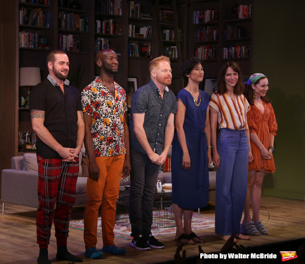 Photo Coverage: The Cast of LOG CABIN Takes its Opening Night Bows